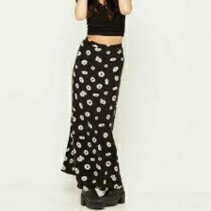 Floral Daisy maxi skirt
